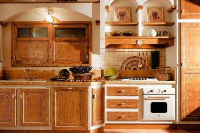 Светлые кухни фабрики Le Cucine Dei Mastri