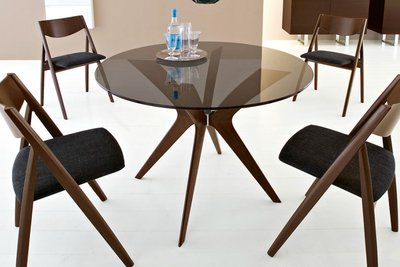Dining room table sets leather chairs